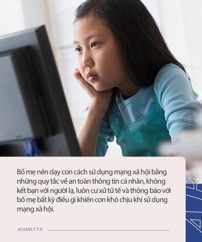 Từ vụ bé gái 11 tuổi mất tích trong đêm: Đừng bỏ qua những lời khuyên dưới đây nếu muốn bảo vệ con khỏi tác hại của mạng xã hội - Ảnh 2.