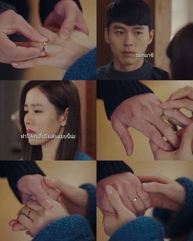 """Cận cảnh chiếc nhẫn """"đính hôn"""" mà Son Ye Jin đeo, nhìn sao cũng thấy liên quan tới Hyun Bin? - Ảnh 3."""