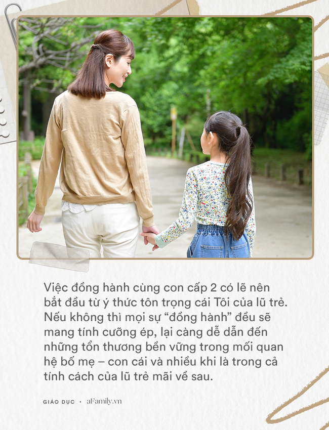 Viết cho bố mẹ có con học cấp Hai - Ảnh 1.