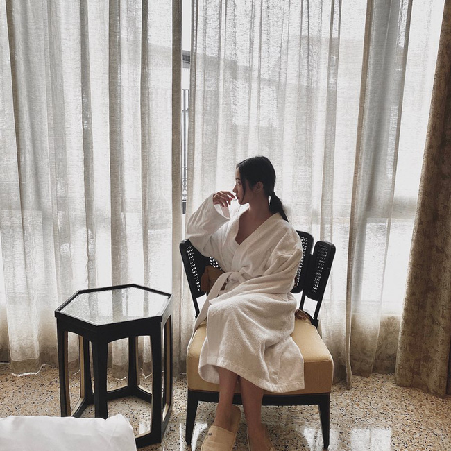Jun Vũ tận hưởng khoảng thời gian thư giãn khi ở Huế.