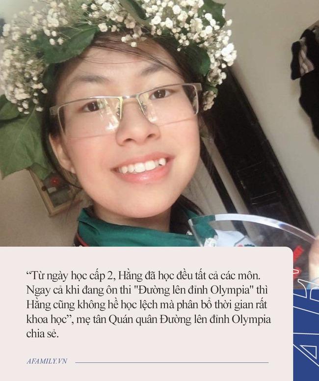 Tân quán quân Đường lên đỉnh Olympia qua lời kể của mẹ: Mỗi tối học từ 7 rưỡi đến 11 giờ, không đi học thêm nhưng đây mới là điều làm nên thành công - Ảnh 2.