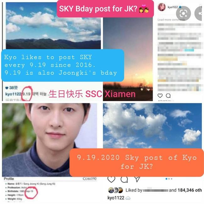 """Dân mạng soi ra """"ẩn tình"""" vụ Song Hye Kyo đăng hình bầu trời đúng ngày sinh nhật chồng cũ, hóa ra nữ diễn viên từng làm hành động tương tự vào năm 2016? - Ảnh 4."""