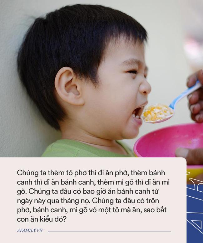 Bác sĩ Nhi chỉ rõ nguyên nhân khiến trẻ biếng ăn, không ít bố mẹ Việt vẫn đang cho con ăn theo kiểu này - Ảnh 3.