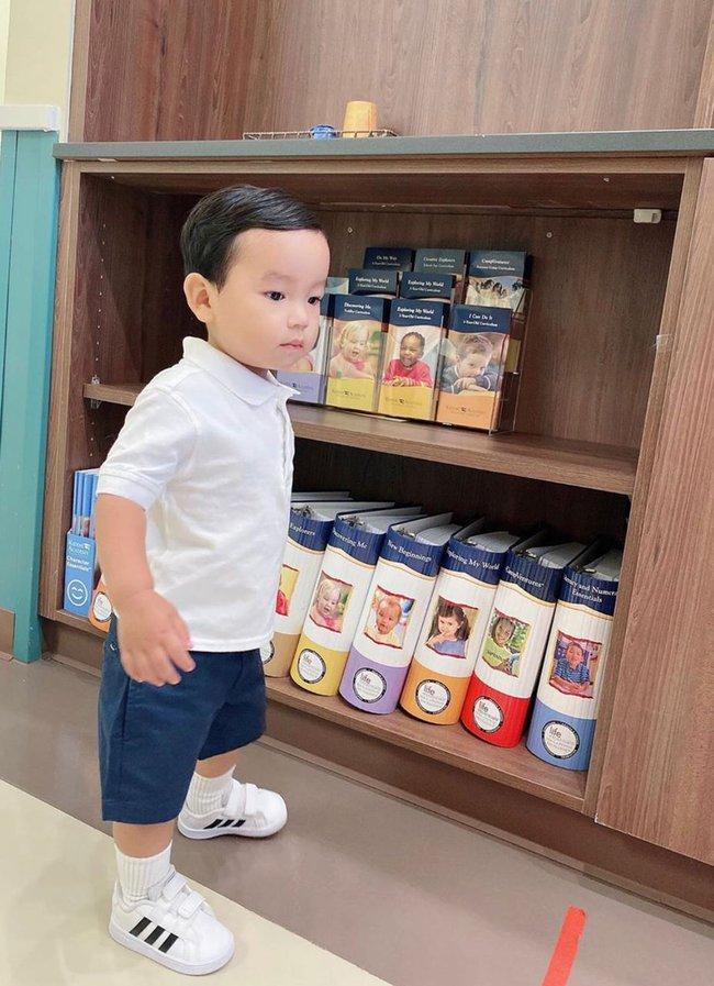"""Mới đó mà con trai Phạm Hương đã lớn cỡ này, nhìn cậu ấm ai cũng ngưỡng mộ cách nuôi con của """"Hoa hậu quốc dân"""" - Ảnh 12."""
