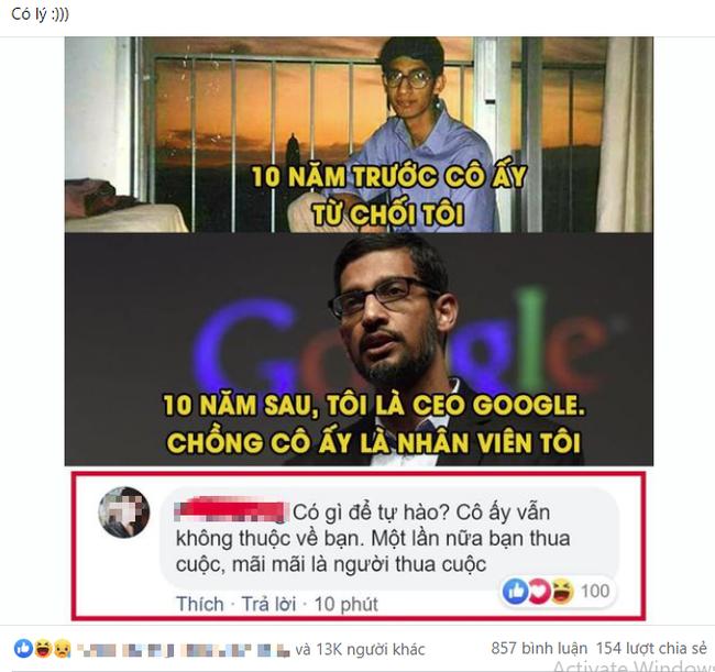 Sự thật đằng sau bức ảnh được lan truyền MXH chuyện tình tréo ngoe của CEO Google và vấn đề gây tranh cãi khi đáp án nào cũng đúng - Ảnh 1.