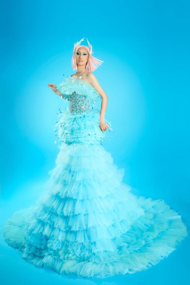 """Hoa hậu Khánh Vân gây ấn tượng khi hóa thân thành """"drag queen"""" cùng Lynk Lee dành tặng cộng đồng LGBTQ+ - Ảnh 7."""