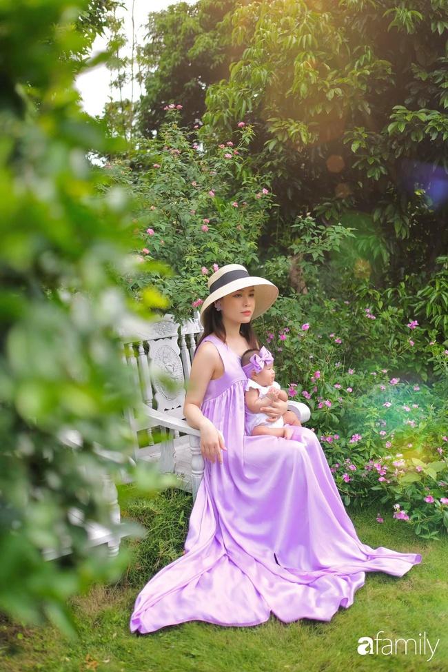"""""""Phù thủy make-up"""" Quách Ánh kể chuyện làm mẹ bỉm sữa: Trở lại công việc sớm giúp giảm stress sau sinh, - Ảnh 5."""