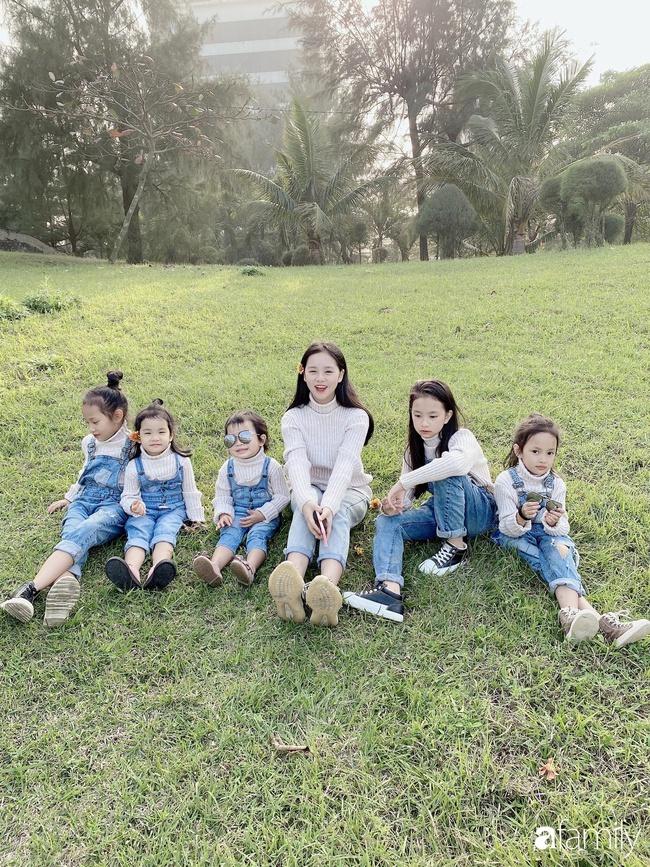 Mẹ Cửa Lò đẻ 6 cô con gái bé nào cũng xinh như hoa, mang thai lần 6 suýt mất mạng - Ảnh 2.