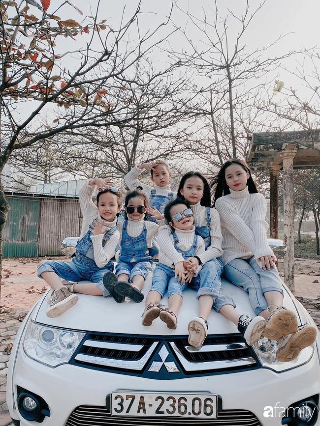 Mẹ Cửa Lò đẻ 6 cô con gái bé nào cũng xinh như hoa, mang thai lần 6 suýt mất mạng - Ảnh 4.