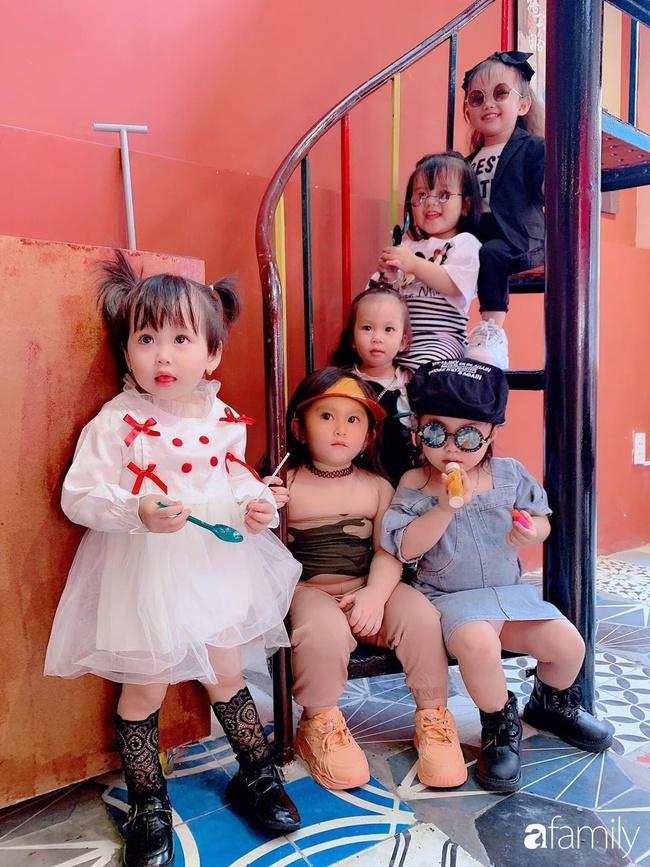 """Biệt đội """"nhà đông con"""" ở Sài Gòn đi đâu cũng rực rỡ, xuất hiện chỗ nào là gây náo loạn chỗ đó - Ảnh 9."""