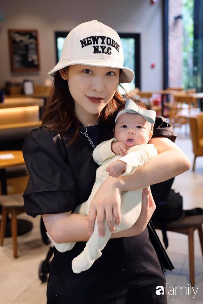 """""""Phù thủy make-up"""" Quách Ánh kể chuyện làm mẹ bỉm sữa: Trở lại công việc sớm giúp giảm stress sau sinh, - Ảnh 6."""