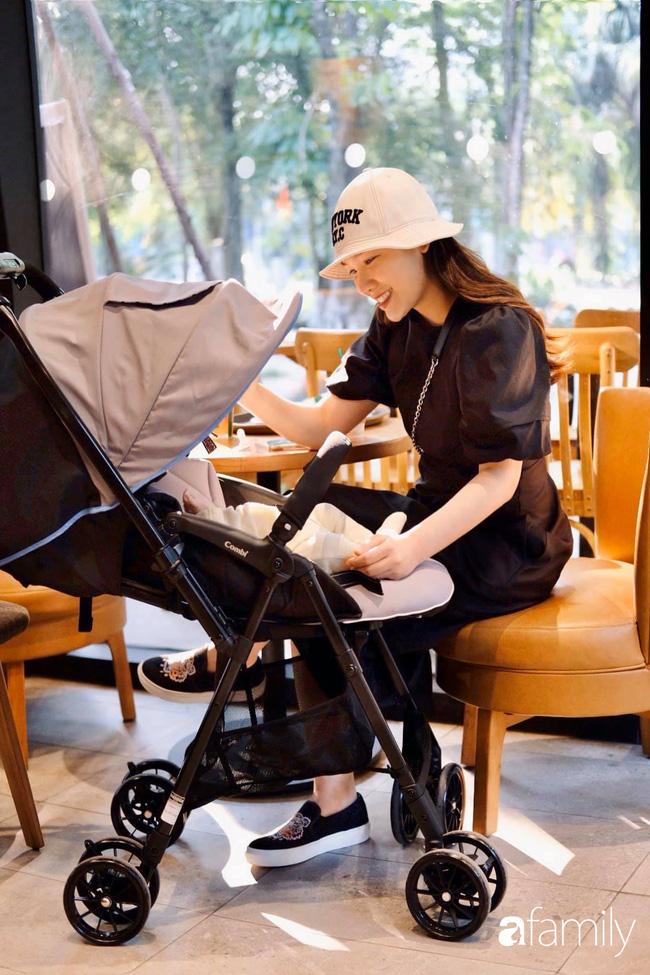 """""""Phù thủy make-up"""" Quách Ánh kể chuyện làm mẹ bỉm sữa: Trở lại công việc sớm giúp giảm stress sau sinh, - Ảnh 7."""