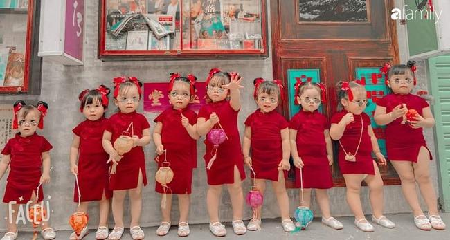 """Biệt đội """"nhà đông con"""" ở Sài Gòn đi đâu cũng rực rỡ, xuất hiện chỗ nào là gây náo loạn chỗ đó - Ảnh 5."""