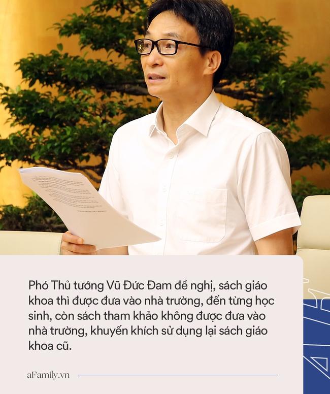 Phó Thủ tướng: Sách tham khảo không được đưa vào nhà trường, khuyến khích sử dụng lại sách giáo khoa cũ - Ảnh 2.
