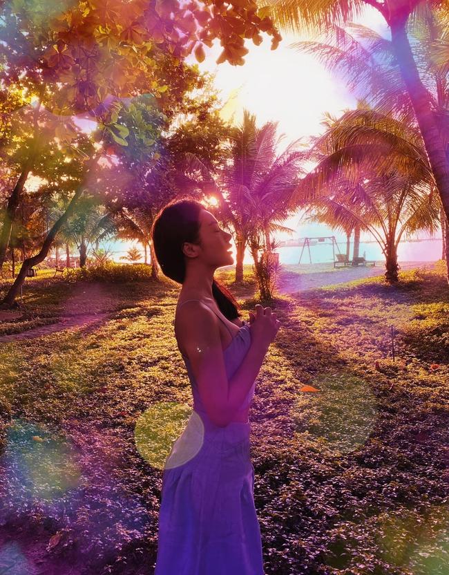 Yaya Trương Nhi đẹp như tiên giáng trần trong bức ảnh mới.