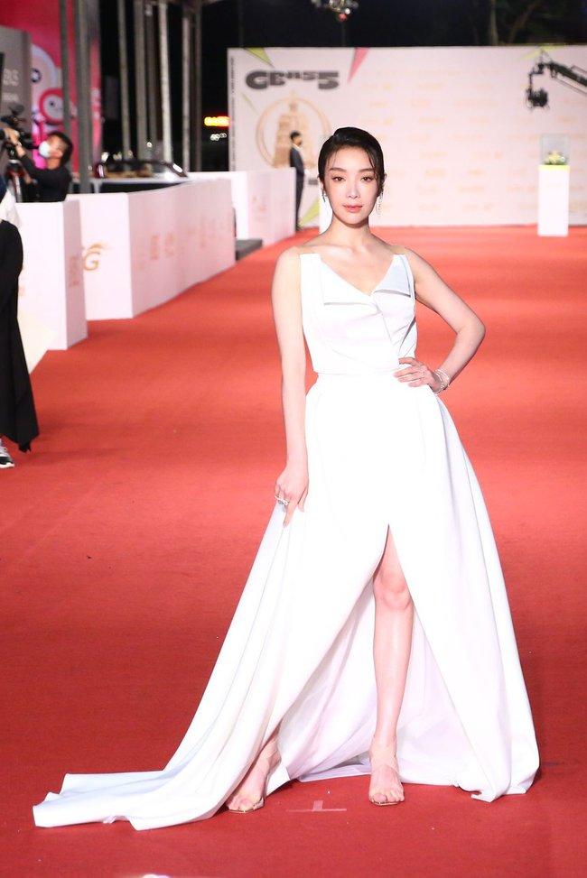 Thảm đỏ lễ trao giải Kim Chung lần thứ 55: Dàn mỹ nhân xứ Đài diện đầm quyến rũ tới mấy cũng hoàn toàn lu mời trước mỹ nam diện váy - Ảnh 11.
