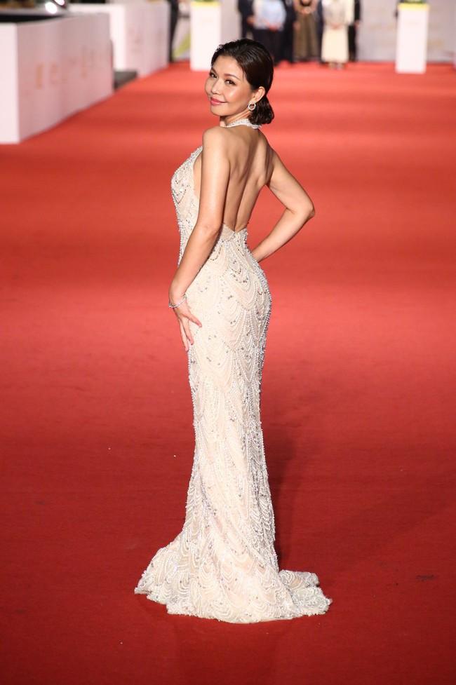 Thảm đỏ lễ trao giải Kim Chung lần thứ 55: Dàn mỹ nhân xứ Đài diện đầm quyến rũ tới mấy cũng hoàn toàn lu mời trước mỹ nam diện váy - Ảnh 20.