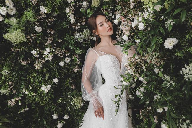 Ninh Dương Lan Ngọc diện váy cô dâu đẹp ngỡ ngàng, khoe visual đỉnh khiến dân tình tròn mắt - Ảnh 6.