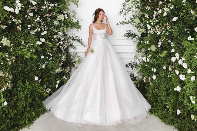 Ninh Dương Lan Ngọc diện váy cô dâu đẹp ngỡ ngàng, khoe visual đỉnh khiến dân tình tròn mắt - Ảnh 5.