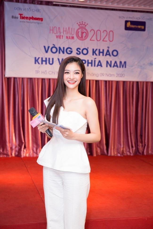 Á hậu Kiều Loan bất ngờ làm điều chưa nàng Hậu nào từng thử tại sơ khảo Hoa hậu Việt Nam 2020 - Ảnh 2.