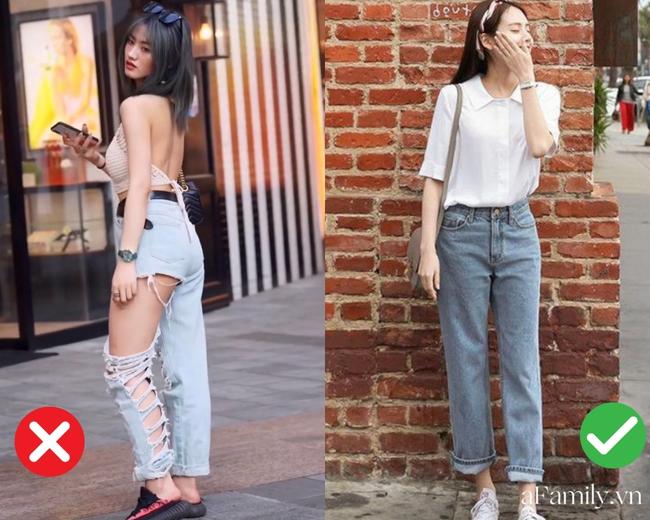 """2 kiểu quần jeans nên tránh xa vì khiến bạn bị """"dìm dáng"""" và lôi thôi đến cực độ  - Ảnh 1."""