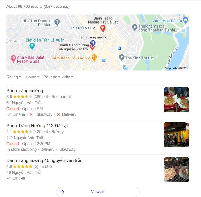 """Quán bánh tráng trộn đuổi khách ở Đạt Lạt đã bị xử lý, nhưng dân mạng vẫn thi nhau vào """"hạ điểm"""" quán đến mức chưa từng có   - Ảnh 5."""