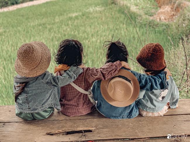"""Bộ ảnh """"nhà có 5 nàng tiên"""" rủ nhau lên Mù Cang Chải đẹp như tranh khiến người lớn cũng phải mê mệt - Ảnh 15."""