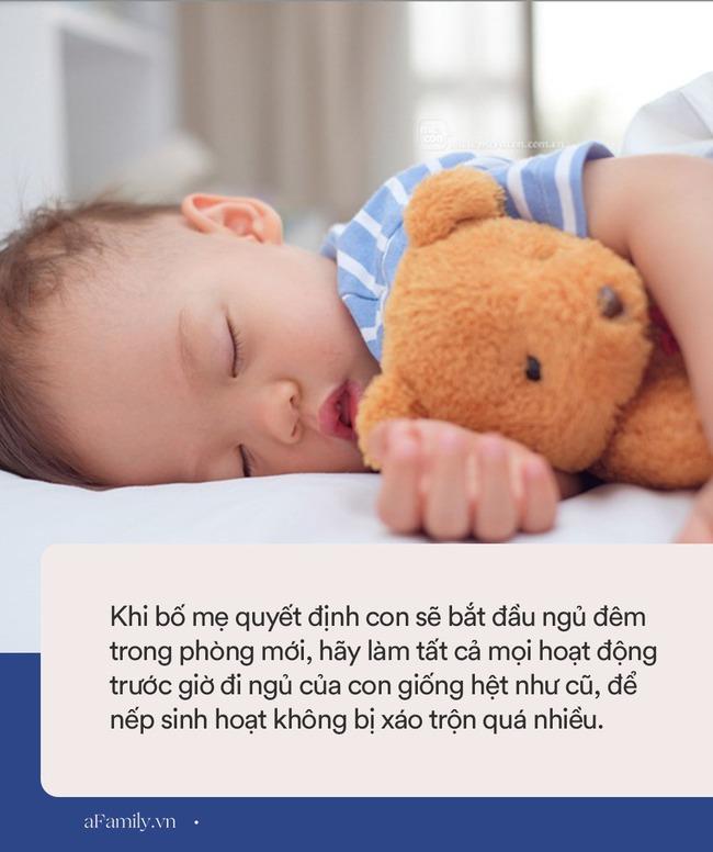 Nếu chuẩn bị cho con ra ngủ phòng riêng, bố mẹ cần nhớ ngay 8 gợi ý này để mọi việc diễn ra thật nhẹ nhàng và vui vẻ - Ảnh 3.