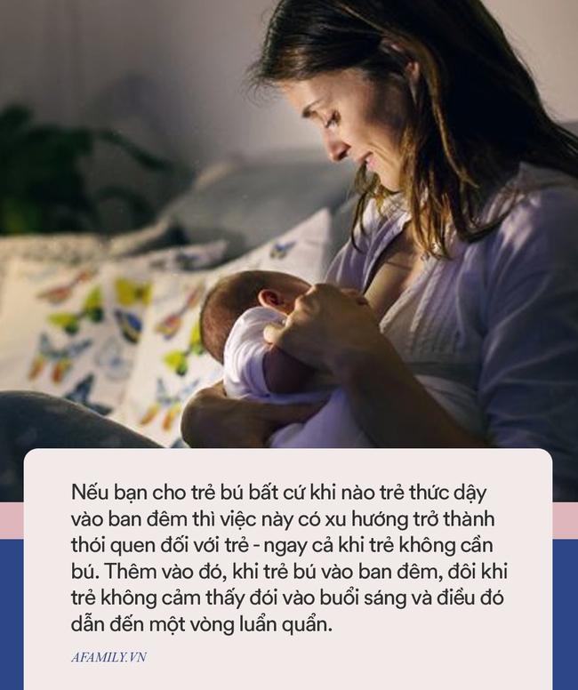 6 điều đặc biệt nên tránh nhưng hầu như mẹ nào cũng làm khi bé thức giấc giữa đêm - Ảnh 3.