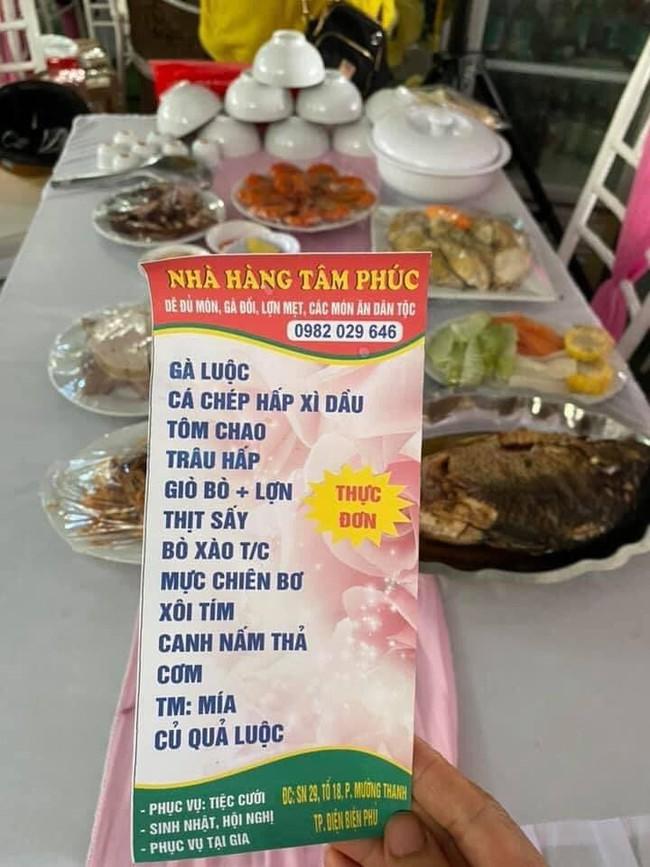 Công an vào cuộc vụ chủ nhà hàng ở Điện Biên bị khách 'bom' 150 mâm cỗ cưới: Đã xác định được người liên quan  - Ảnh 2.