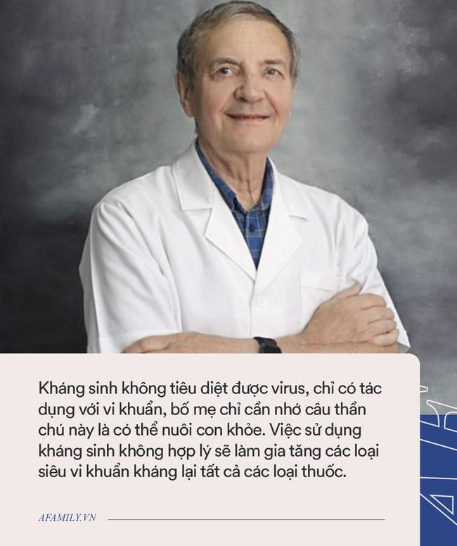 """Bác sĩ Collin nhắc bố mẹ câu thần chú để nuôi con khỏe: """"Kháng sinh không tiêu diệt được virus, chỉ có tác dụng với vi khuẩn"""" - Ảnh 2."""