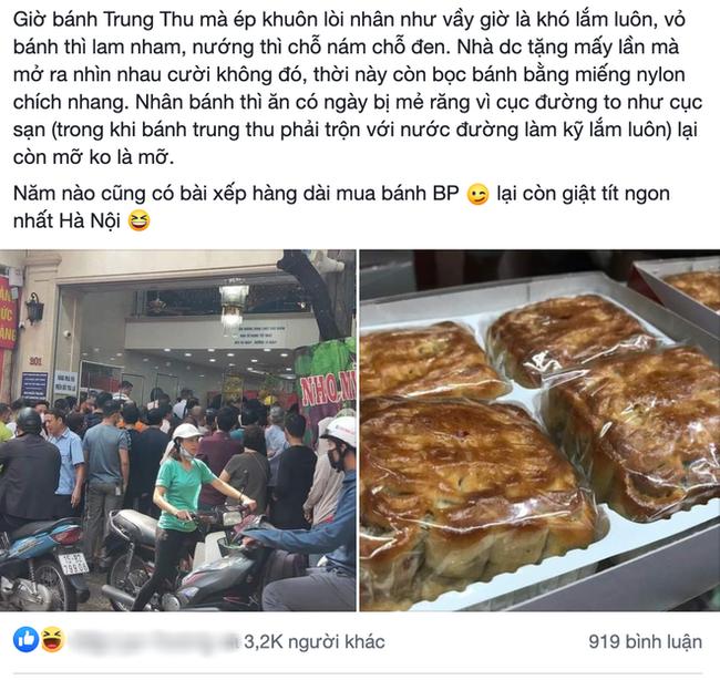 Tiệm bánh Trung thu cổ truyền nức tiếng Hà Nội bị bóc phốt làm bánh lòi cả nhân, ăn toàn mỡ là mỡ, nhưng chính cư dân mạng lại ra tay đỡ lời bằng câu nói cực chất - Ảnh 1.