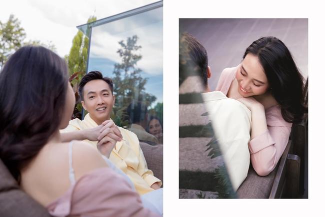 Loạt ảnh mới được tiết lộ của Đàm Thu Trang trước ngày lâm bồn, nhan sắc mẹ bầu đẹp rạng rỡ khiến ai cũng xuýt xoa - Ảnh 2.