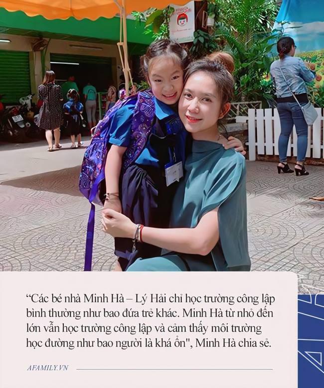Đều là những đại gia của showbiz nhưng chỉ đến mùa khai giảng, dân tình mới phát hiện ra con của các sao Việt nay chỉ học trường bình dân - Ảnh 4.