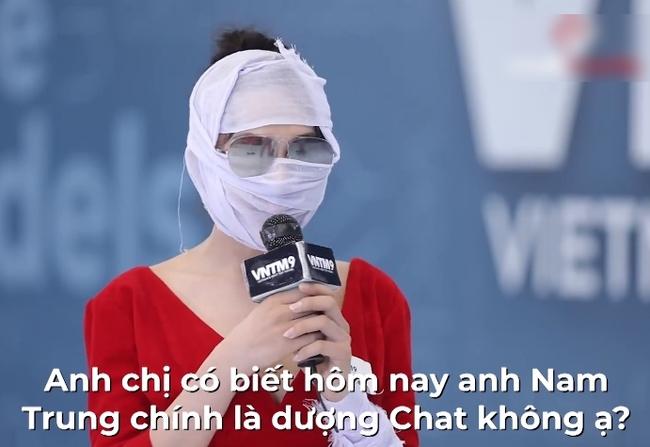"""""""Vietnam's Next Top Model"""": Nữ chính chuyển giới của """"Người ấy là ai"""" xuất hiện với ngoại hình lạ lẫm liền bị Nam Trung chấn vất gay gắt - Ảnh 5."""