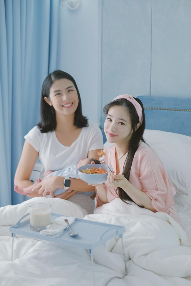 Đi thăm bạn mới sinh, Hoa hậu Ngọc Hân nấu món ăn lạ miệng dễ làm mà đẹp lung linh khiến cộng đồng mạng muôn phần nể phục!  - Ảnh 10.