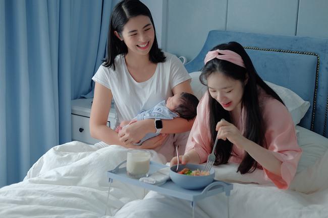 Đi thăm bạn mới sinh, Hoa hậu Ngọc Hân nấu món ăn lạ miệng dễ làm mà đẹp lung linh khiến cộng đồng mạng muôn phần nể phục!  - Ảnh 8.