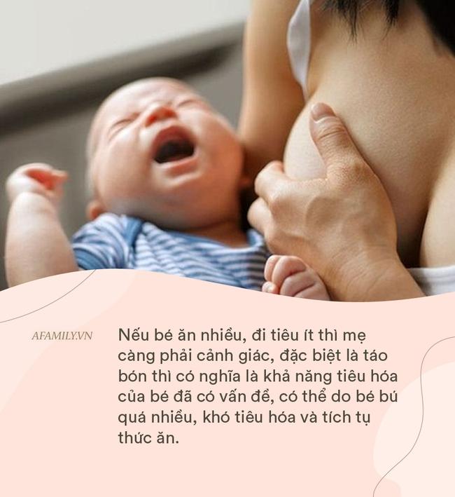 Trẻ sơ sinh trong vòng 6 tháng có ba biểu hiện này cần ngừng bú mẹ, trẻ bú quá nhiều cũng gây hại - Ảnh 5.