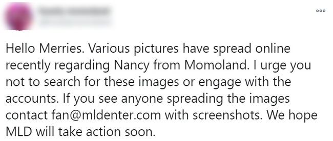 Biến căng: Nancy (MOMOLAND) bị lộ ảnh nhạy cảm khi đang thay đồ biểu diễn, là do fan Việt chụp lén? - Ảnh 4.