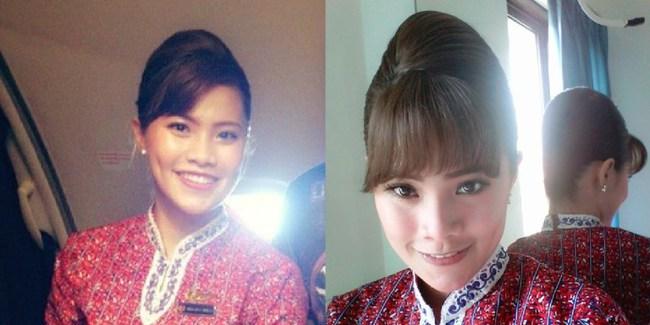Máy bay rơi ở Indonesia: Hình ảnh đầu tiên về những nữ tiếp viên hàng không xinh đẹp và tài giỏi trên chuyến bay định mệnh - Ảnh 2.