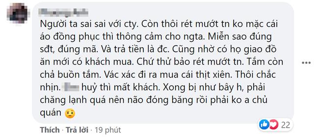 """Quán thịt xiên nướng nổi tiếng khu chùa Láng bị tố thái độ với shipper, dân tình phẫn nộ, """"tổng tấn công"""" 1 sao trên fanpage - Ảnh 3."""