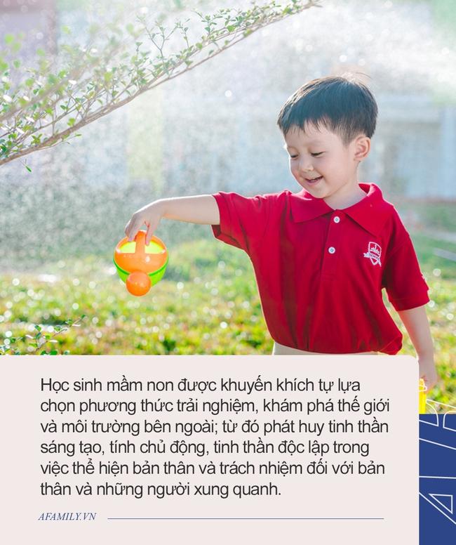 Ngôi trường quốc tế con gái Mai Phương đang theo học: Mức phí bình dân nhưng cơ sở vật chất hiện đại, phương pháp dạy mới độc đáo - Ảnh 4.