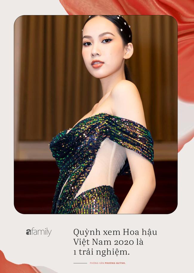 Trò chuyện với cô gái gây tiếc nuối nhất tại Hoa hậu Việt Nam 2020 - Phương Quỳnh: Tiết lộ chuyện thần tượng Đông Nhi, khẳng định sẽ vượt qua được cám dỗ tại showbiz - Ảnh 1.