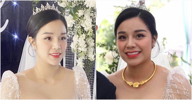 Vợ cầu thủ Bùi Tiến Dũng lần đầu xuất hiện sau đám cưới, nhan sắc khác biệt của Khánh Linh gây chú ý  - Ảnh 5.