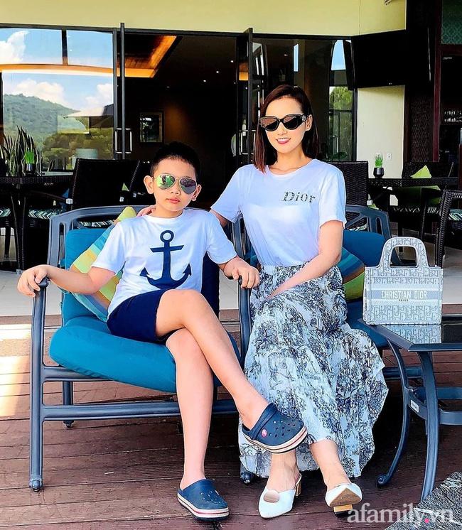 Diễn viên Lã Thanh Huyền tâm sự về con trai: 8 tuổi đã vượt trội về chiều cao và thể lực, biết cách nuôi dưỡng của mẹ mới ngưỡng mộ làm sao - Ảnh 8.