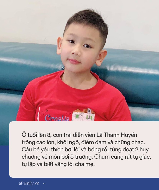 Diễn viên Lã Thanh Huyền tâm sự về con trai: 8 tuổi đã vượt trội về chiều cao và thể lực, biết cách nuôi dưỡng của mẹ mới ngưỡng mộ làm sao - Ảnh 5.