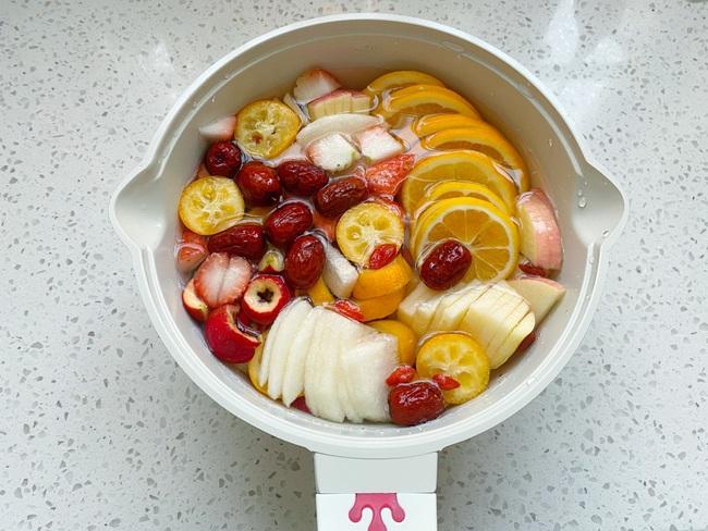 Để có làn da sáng đẹp đón Tết chị em làm ngay trà trái cây để uống mỗi ngày - Ảnh 4.