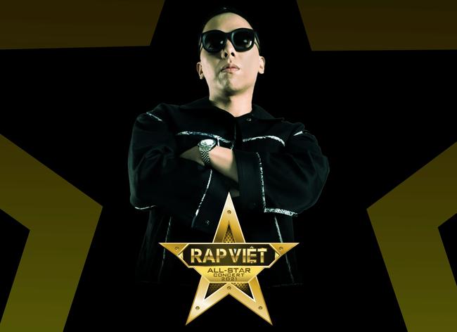 """Touliver gây xôn xao khi """"cầm trịch"""" sự kiện nhạc Rap - Hip Hop lớn nhất Việt Nam - Live Concert Rap Việt All-Star - Ảnh 1."""