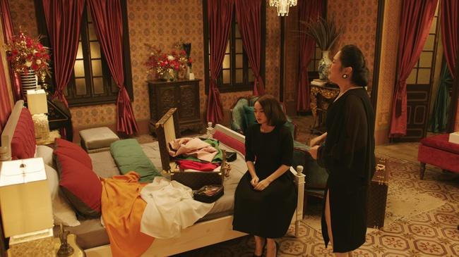 """NSND Lê Khanh khiến khán giả choáng ngộp với căn nhà triệu đô của mình trong """"Gái Già Lắm Chiêu V"""" - Ảnh 7."""