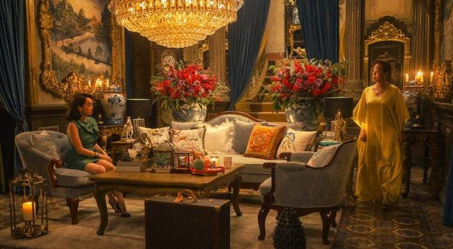 """NSND Lê Khanh khiến khán giả choáng ngộp với căn nhà triệu đô của mình trong """"Gái Già Lắm Chiêu V"""" - Ảnh 4."""